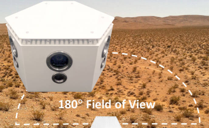 PureTech Systems introduces VisionView 180 outdoor perimeter camera