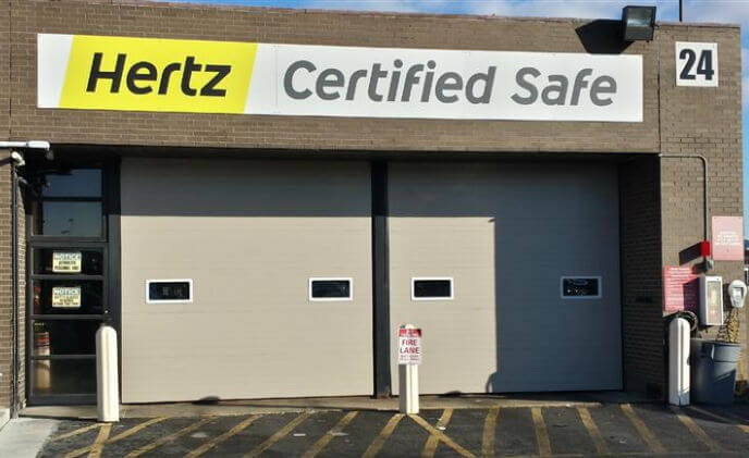 ASSA ABLOY provides modern door solutions for Hertz