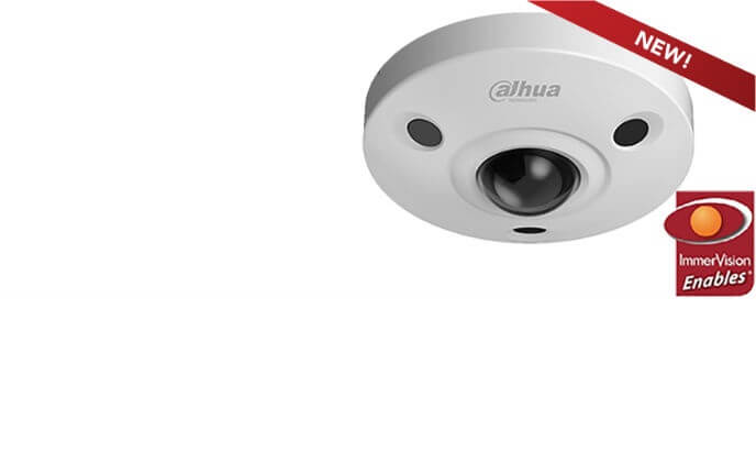 Dahua adds new 6 MP 360° mini dome to list of Immervision Enables certified solutions