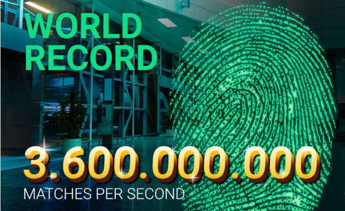 DERMALOG matches 3.6 billion fingerprints per second