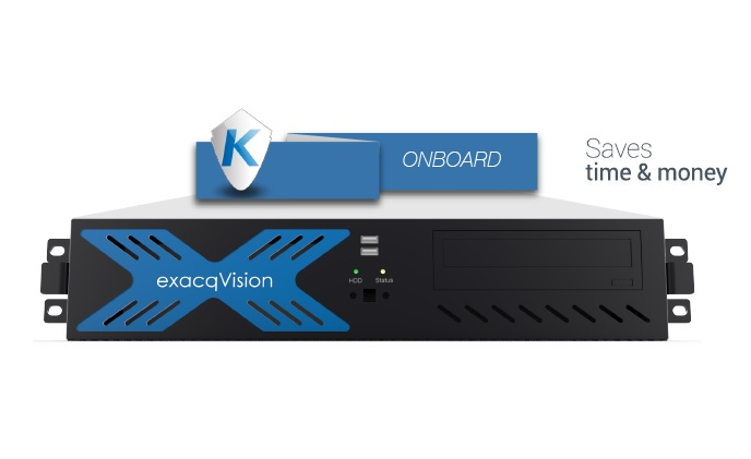 Tyco Security Products introduces Kantech EntraPass access control system onboard exacqVision network video recorders