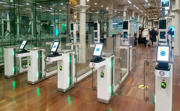 Vision-Box provides border control solution at the French rail station