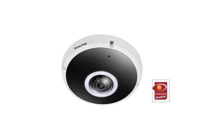 VIVOTEK adds 2 new 12MP 360° network cameras certified Immervision Enables to product line
