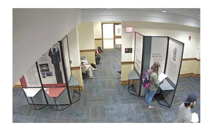 John Carroll University deploys Axis to protect traveling exhibition