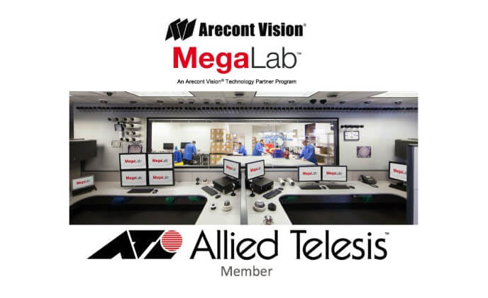 Arecont Vision welcomes Allied Telesis to Technology Partner Program