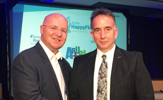 Aruba Airport Authority and Vision-Box exclusive partnership for Aruba Happy Flow