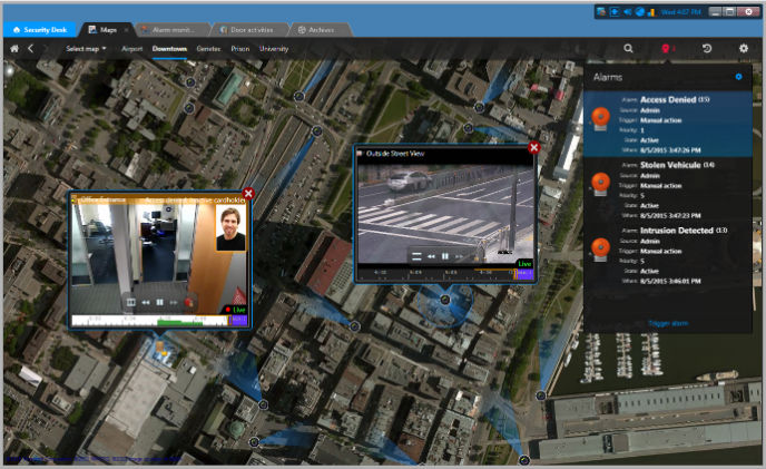 IDIS integrates cameras with Genetec's open-platform VMS solution