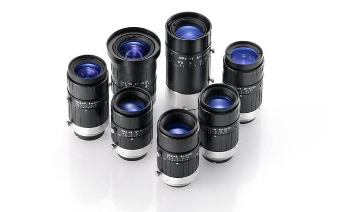 Fujifilm 50 mm fixed focal lens for latest machine vision sensors