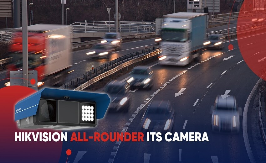 New Hikvision ITS camera for improved road safety and traffic flow