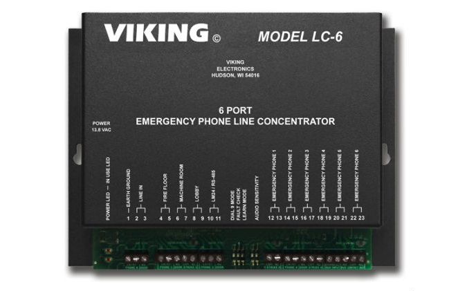 Viking Electronics has line concentration covered – meet the LC-6
