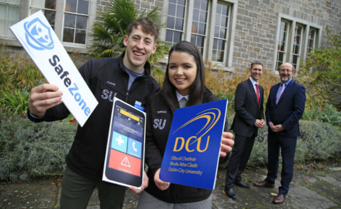 New Dublin City University safety app supports staff and students across the world