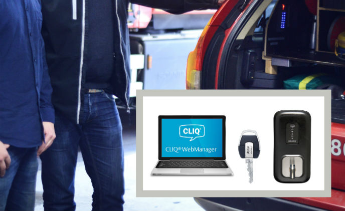 In Sweden, programmable CLIQ keys help local emergency services to respond faster