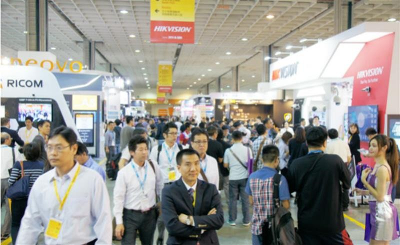 Secutech in Taipei demonstrates its effectiveness as a business platform as exhibitor numbers increase