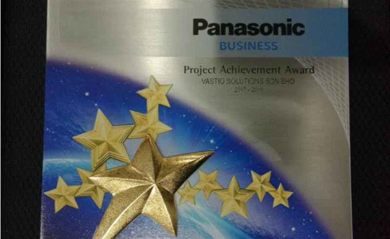 Panasonic Malaysia recognizes Vastiq Solution for Telecom Brunei Project