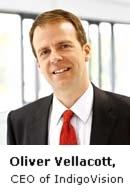 Oliver Vellacott/CEO of Indigo Vision