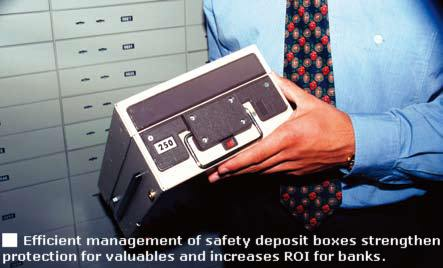 Efficient management of safety deposit boxes strengthens protection for valuables and increases ROI for banks.