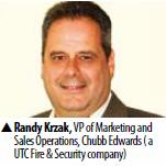 Randy Krzak, VP of Marketing and Sales Operations, Chubb Edwards ( a UTC Fire & Security company)