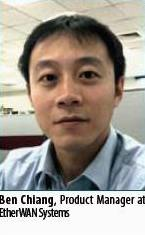 Ben Chiang, Product Manager at EtherWAN Systems