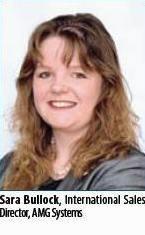 Sara Bullock, International Sales Director, AMG Systems