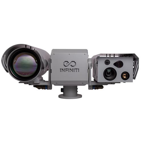 Long range IP PTZ camera Night Vision Cooled Thermal Camera LRF IR Laser GPS Gyro Stabilized PTZ IP