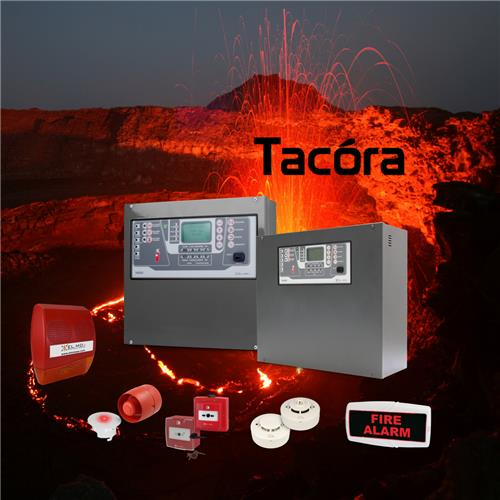 Tacóra Line - Conventional and hybrid fire alarm control units