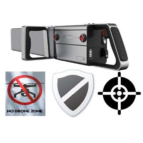 Mobile Aerial Drone Elimination (MADE) Anti UAV & Drone hand held  Weapon