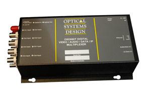 OSD860 Digital 4/8 Channel Video / Audio / Data / IP Multiplexer