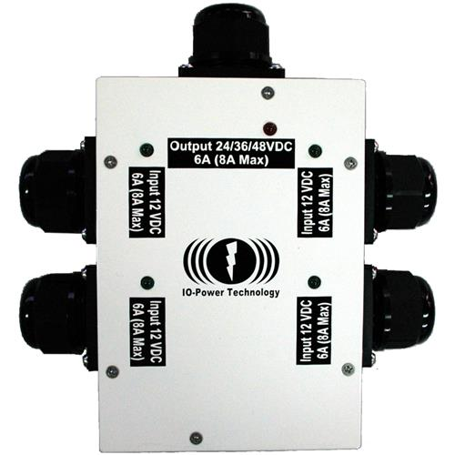 IOP-SCBP-D12O48-1 Outdoor12VDC Series Connection Boost Protector