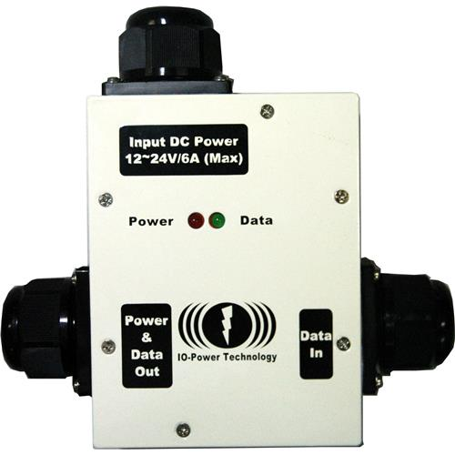 IOP-DPOE-PSP1248-OA Series Outdoor DC to DC Power over Ethernet (PoE) Converter