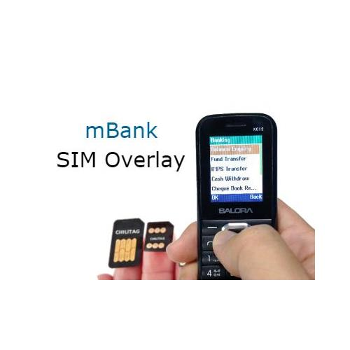 Mobile Bank SIM Overlay