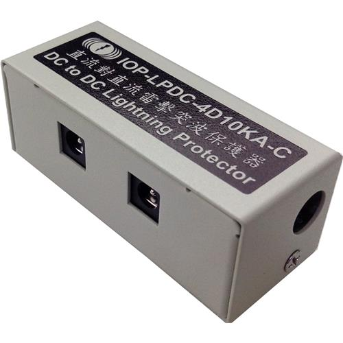 IOP-LPDC-4D10KA-X 1 DC to 4DC DC Power Lightning Protection and Surge Protector