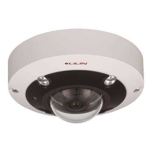Day & Night 6MP 360° Panorama Dome IR IP Camera