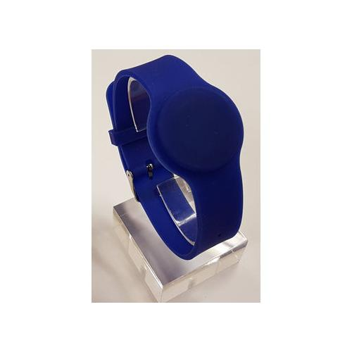 Batag RFID Silicone Rubber Adjustable Wristband WGR-010B-0N (IC chip: TK4100 125Khz LF)