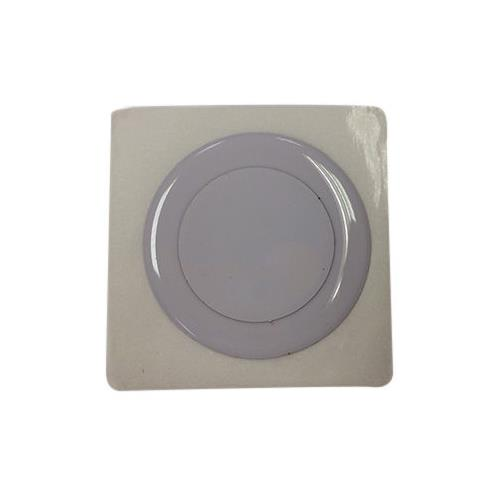 RFID NFC Flexible Metal Tag, White/NXP NTAG213, 13.56MHz, Read/Write