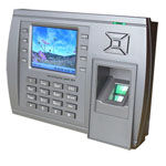 fingerprint access control with tft display