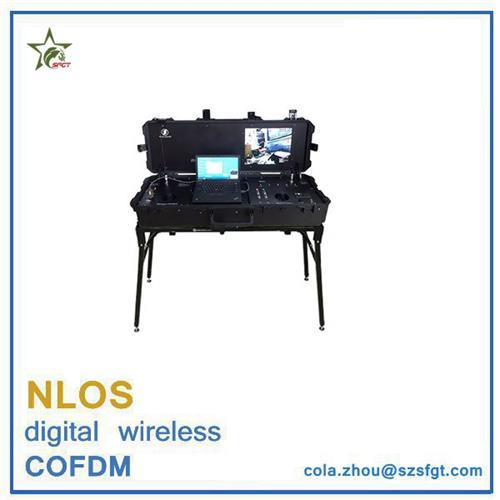 Portable COFDM wireless ground station for UAV communication