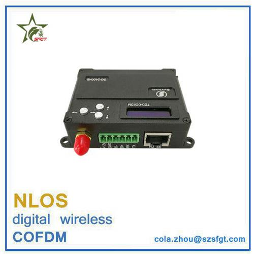 2 way transmission uav cofdm nlos data video link