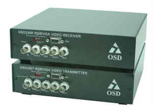 OSD330T / 330R RGB / XGA Video Transmission System