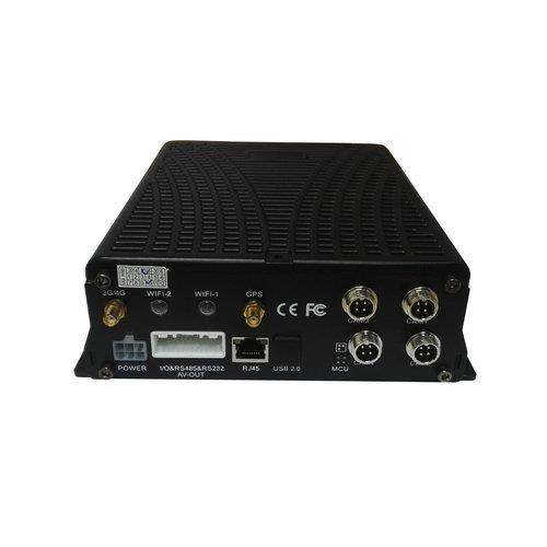 4 CHANNEL+1 IPC HARD DISK G-SENSOR H 264 MOBILE VEHICLE DVR (GPS+3G/4G+Wi-Fi) JH4-HD