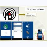 Intelligent security Cloud based IP alarm system for built-in multi-language