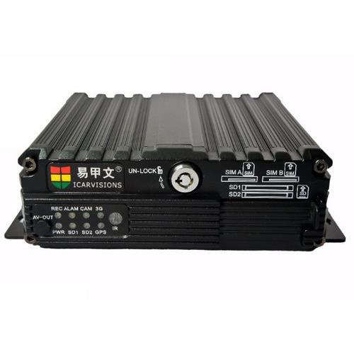 4 CHANNEL+1 IPC SD CARD MOBILE VEHICLE DVR (GPS+3G/4G+WI-FI) JS2-HD