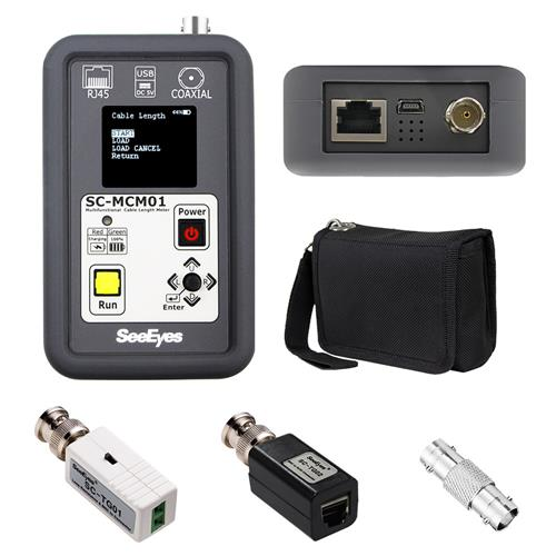 [SC-MCM01] Portable Cable Tester(Coax./UTP)