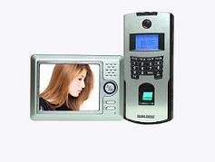 fingerprint access control with video door phone from Granding China