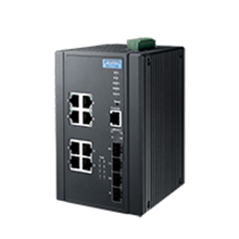 Advantech EKI-7712G-4FMPI 8GE PoE and 4G SFP Managed Ethernet Switch