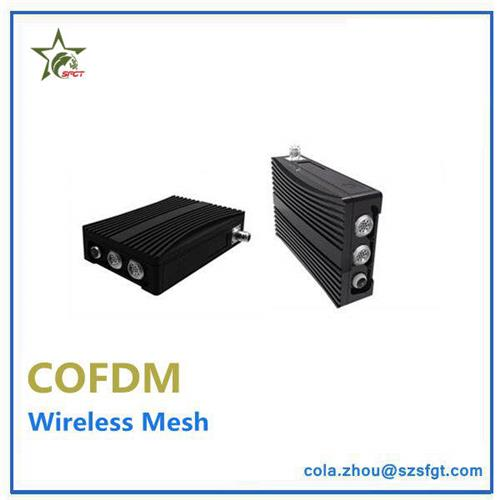 16 nodes COFDM wireless 2 way communication Ethernet radio