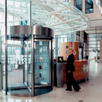 Tourlock security revolving door