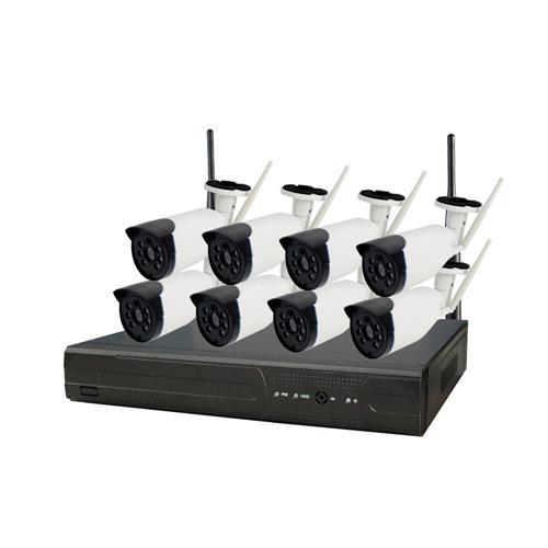ENSTER 8ch Wireless NVR kit, Support VGA, HDMI & p2p, plug and play