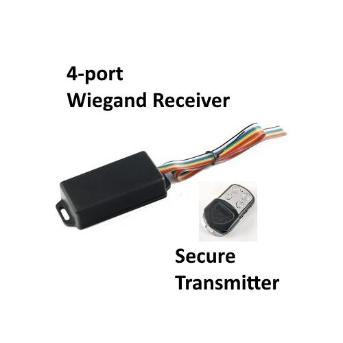 4-port Wiegand Receiver and Secure Transmitter, Access Control