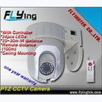 PT CCTV Camera,support remote controller and RS485