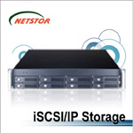 NR340A - 2U 8 bay iSCSI Networking Storage
